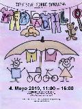 Flee Market at German School BCN Poster