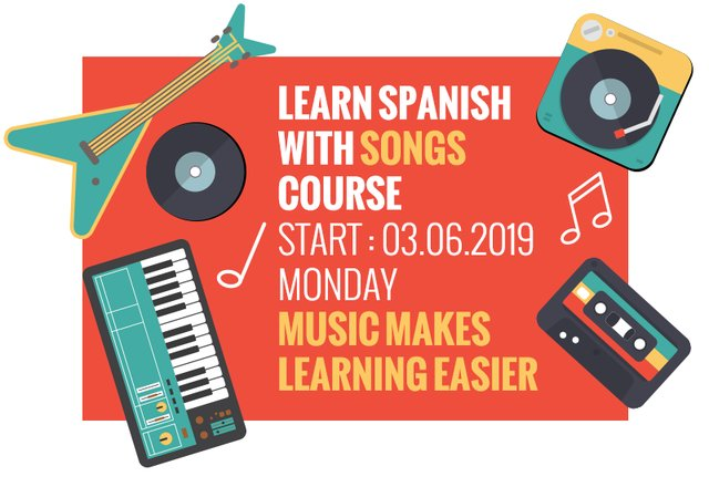 Learn Spanish with Songs Course - (barcelona-metropolitan com)