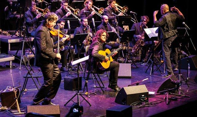 The Django Orchestra. Photo courtesy of Nits de Jazz de Platja d'Aro.jpg