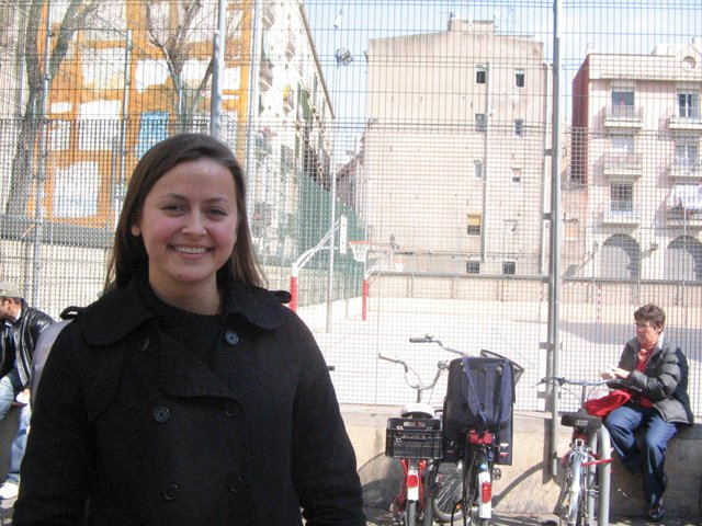 Susan Duelm, USA, in BCN: five years