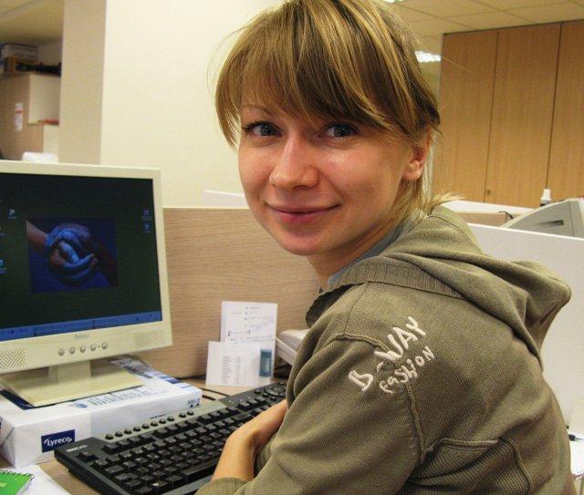 Nina Kuzmina, Latvia, in BCN: four months