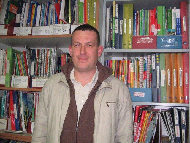Richie McCauley, UK, in BCN: four years