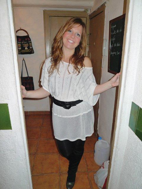 Bjarney Hinriksdottir, Iceland, in BCN: two months