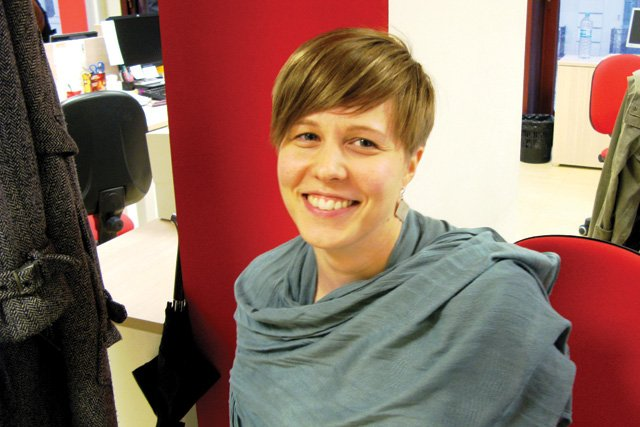 Maria Saarela, Finland, in BCN: 4.5 years