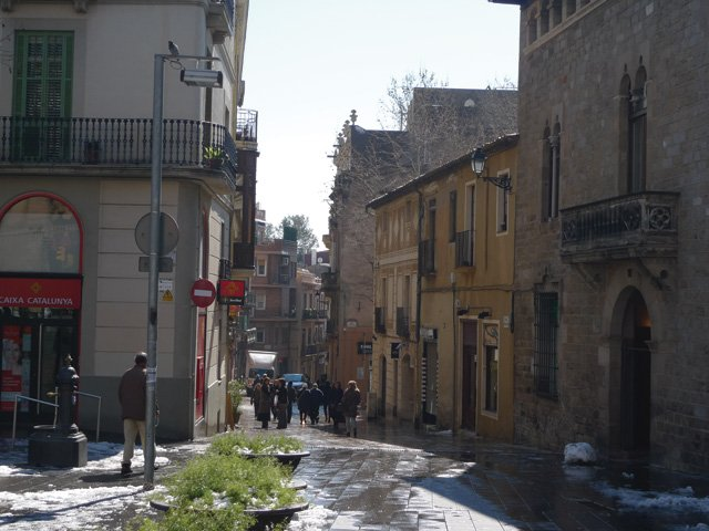 Carrer Major de Sarria