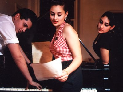Kitty, Daisy & Lewis (home)