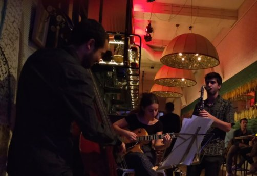 ACOUSTICS AT EIGHT CARLA MOTIS TRIO