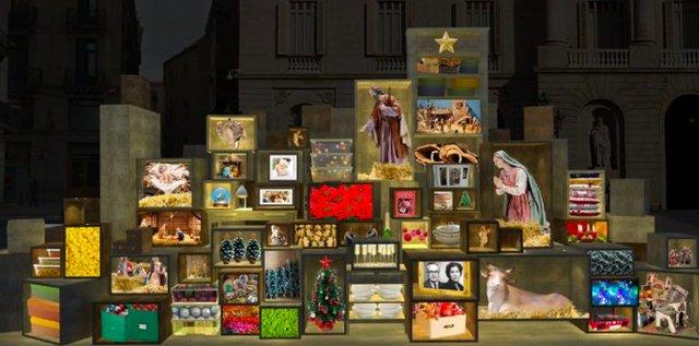 Nativity Scene in Plaça de Sant Jaume