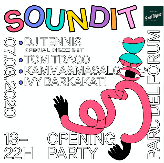 SOUNDIT opening party