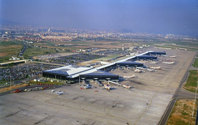 Barcelona airport - Terminal 2