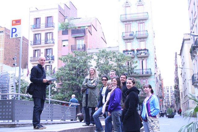 Gràcia tour group
