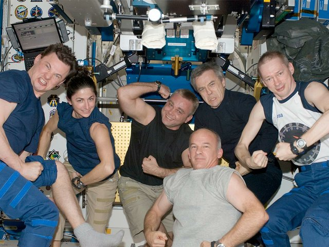astronauts-enjoy-a-light-moment-in-the-Unity-node-of-the-ISS.JPG