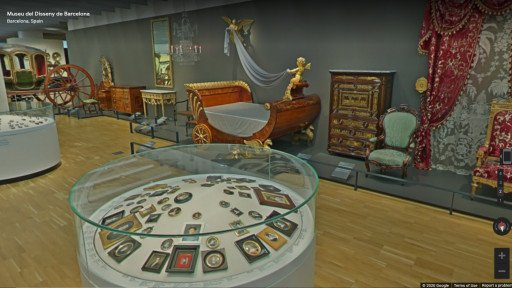 Museu del Disseny online tour