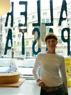 Graciela, taller de pasta