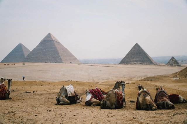Pyramids of Giza Virtual Tour