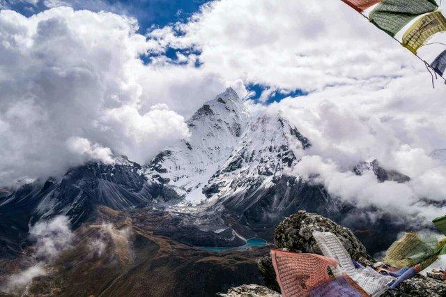 Chukkung Ri peak, Nepal