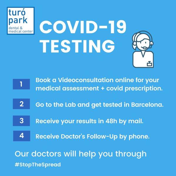 Covid 19 Testing in Barcelona