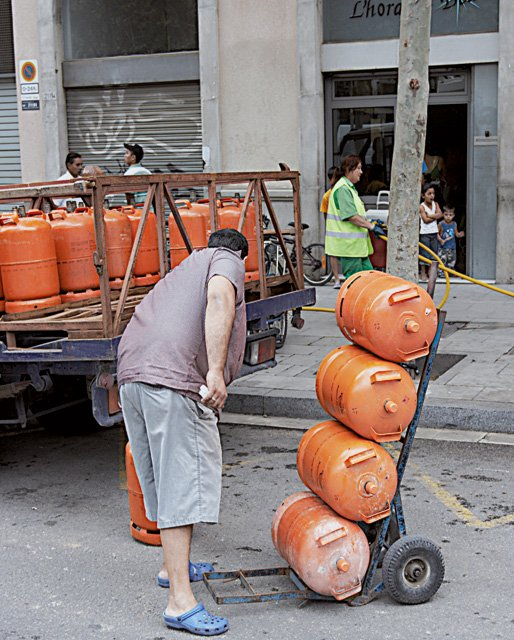Gas man - butanero