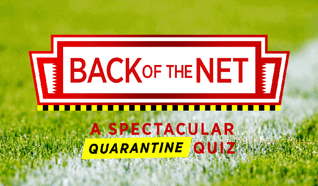 Back of the Net quiz