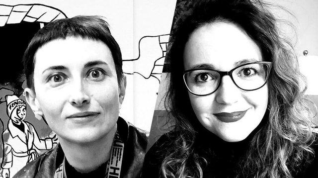 Victoria Lomasko and Marta Ni