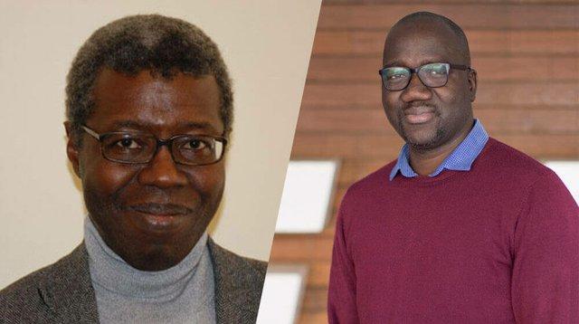 Souleymane Bachir Diagne and Saiba Bayo