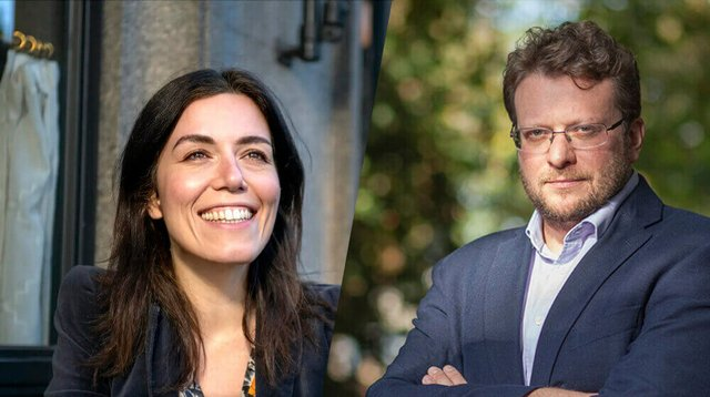 Marta Peirano and Peter Pomerantsev