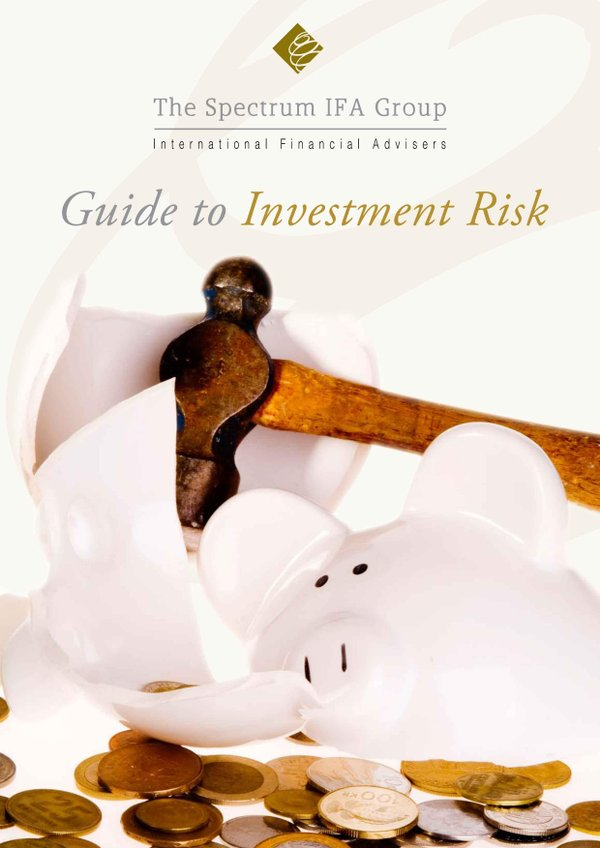 Free Guide To Investment Risk by Barry Davys