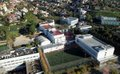 Aerial shot of American School of Barcelona facilities