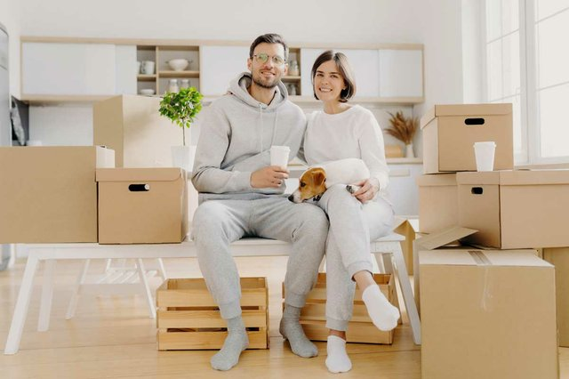 glad-wife-husband-sit-closely-each-other-have-good-mood-being-happy-owners-new-flat-drink-takeout-coffee-pose-with-pedigree-dog-surrounded-with-packages.jpg