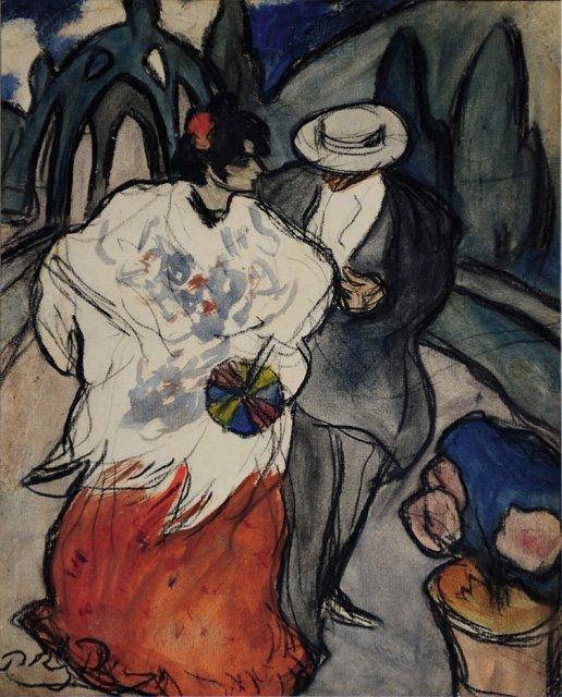 Picasso versus Rusiñol