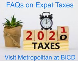 FAQs on Expat Taxes