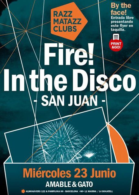 Fire! In the Disco: San Juan