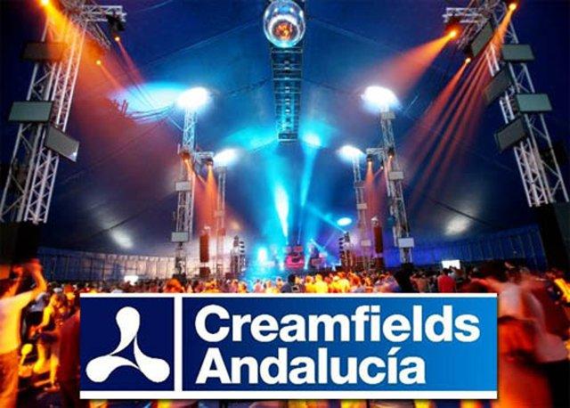 Creamfields andalucia 2010
