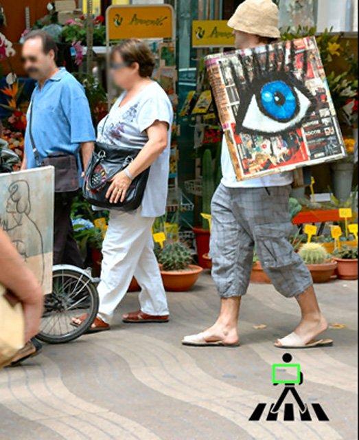 Walking gallery