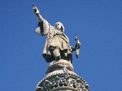Colon statue barcelona