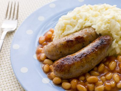 Bangers and mash home