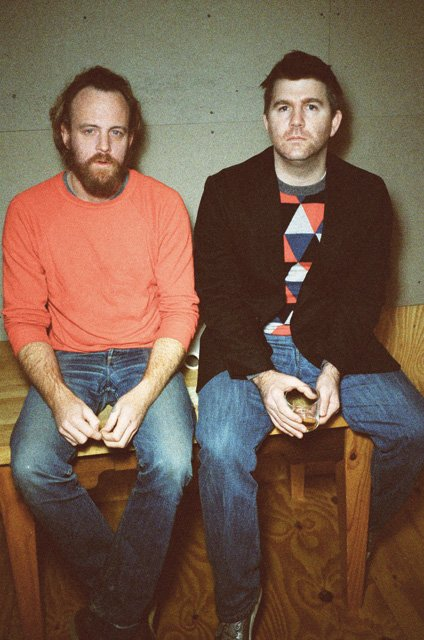 James Murphy and Pat Mahoney