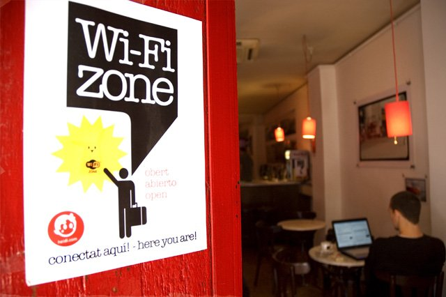 WiFi cafes