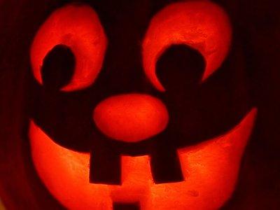 Halloween pumpkin home