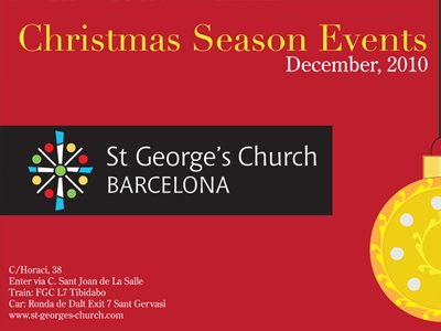 St George's Church Christmas Events 2 Home