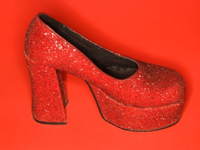 Wizard of Oz red shoes home