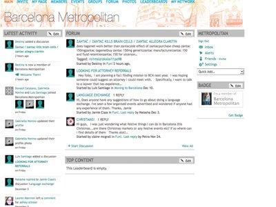 Forum screenshot home