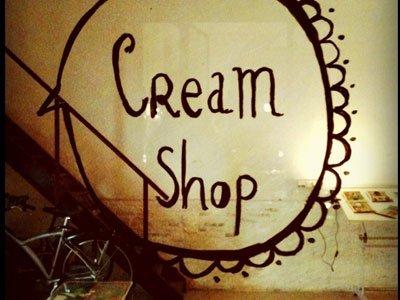 Cream shop