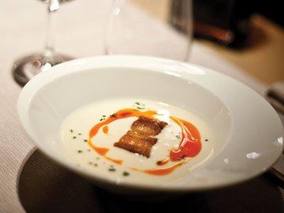 Loidi - Idiazábal soup