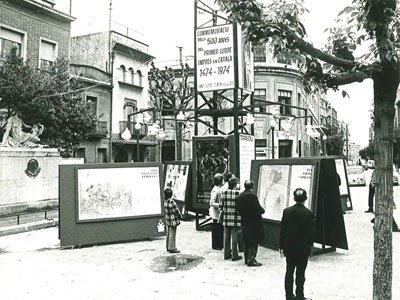 Exhibition organised for Sant Jordi 1974
