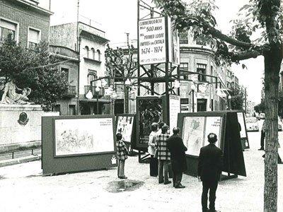 Exhibition organised for Sant Jordi 1974