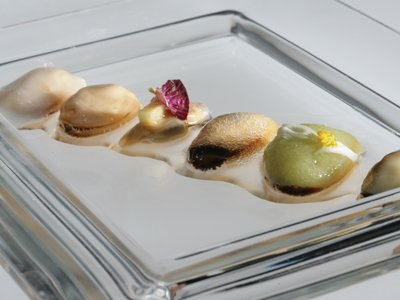 Mussel appetiser from El Celler de Can Roca