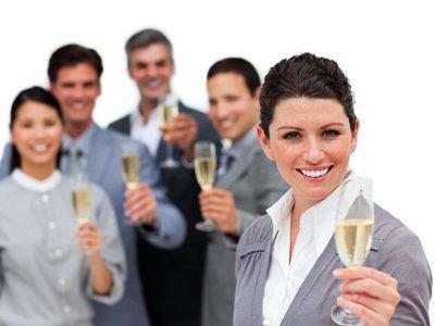 Business drinks - mowa language