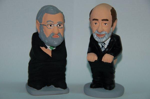 Mariano Rajoy and Alfredo Pérez Rubalcaba