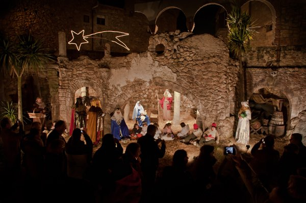 Pessebre Vivent - a 'living' nativity scene